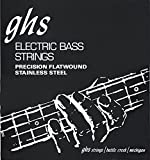 Ghs 3020 L Precision Flat Wound Short Scale Light String