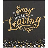 "Hallmark Leaving Card""Missing You Already"" - Small"