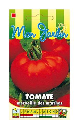 Les Graines Bocquet - Graines De Tomate Merveille Des Marchés - Graines Potagères À Semer - Sachet De 0.5Grammes