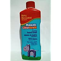 Huggies Clean Team Toddler Hand Soap, 20 Ounce Bottles (Pack of 2) by