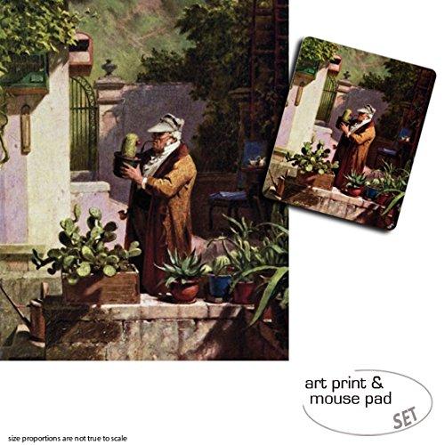1art1 Carl Spitzweg, The Cactus Friend, 1857 1 Póster