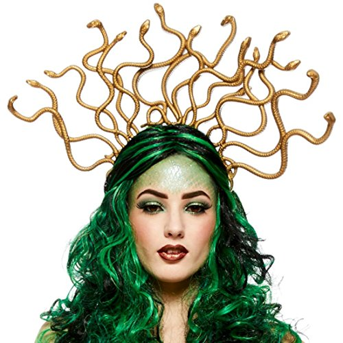Frauen Medusa Schlange Kopfschmuck auf Stirnband