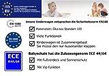 3 in 1 Kombikinderwagen Komplettset VIP – inkl. Kinderwagen, Babyschale und Sportwagen Aufsatz – 1. ALU Hartgummi Bereifung – 33. Schwarz - 9