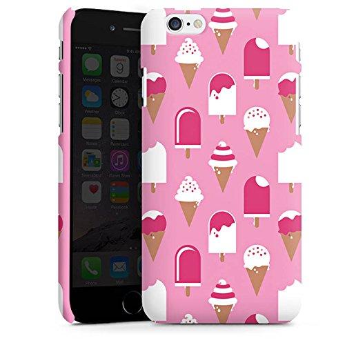 Apple iPhone X Silikon Hülle Case Schutzhülle Eis Sommer Eiscreme Premium Case matt