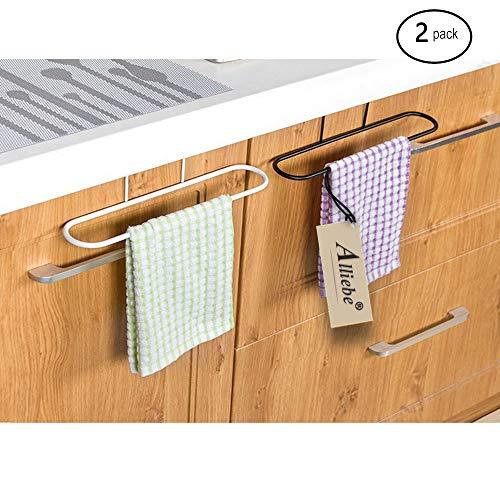 Alliebe 2pcs toallero Colgador Titular Organizador