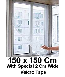 Lifestyle-You Window Mosquito / Fly / Bug Net Mesh Screen -150x150 Cm,Multicolor