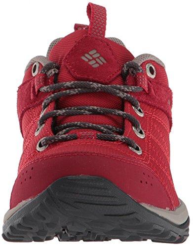 Columbia Damen Fire Venture Textile Trekking-& Wanderhalbschuhe Rot (Mountain Red, Kettle)