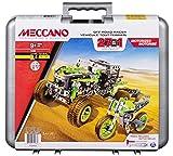 MECCANO–motorisé Tout-Terrain Racer avec étui de Transport Robuste–27modèles, 511pièces (17205)