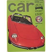 CAR magazine 06/1966 featuring Lotus, SAAB Sonett, Wolseley Hornet II, Hillman Super Imp