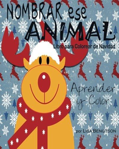 Nombrar ese Animal Libro para Colorear de Navidad