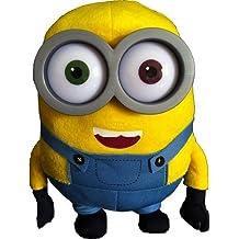 Minion - Bob peluche 28cm Ojos de plástico - Calidad super Soft - [Minion - Gru, mi villano favorito (Despicable me)]