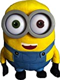 Minion - Bob peluche 28cm Occhielli in plastica - Buona qualità - ('I MINION' - 'CATTIVISSIMO ME' (DESPICABLE ME))
