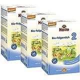 Holle Bio Folgemilch 2, 3er Pack (3 x 600g)