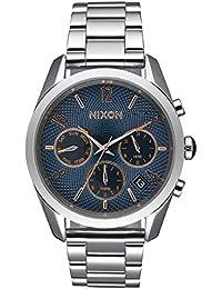 Nixon - A949-2195-00 - Montre Femme - Quartz - Analogique - Bracelet Acier inoxydable Argent