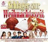 Schlager zur Weihnachtszeit (60 Weihnachtslieder auf 4 CDs - Die Paldauer, Andy Borg, Roy Black, Heino, Francine Jordi, Christian Anders uva.)