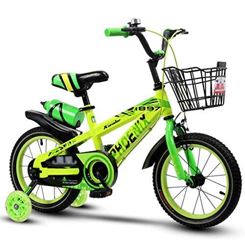 ETZXC Kinder Vorschule Roller Kinder Indoor Heimtrainer Outdoor Kinderfahrrad 3~12 Jahre altes Fahrrad Geeignet für Jungen Fahrräder -14 / 16inches