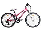 WST Cosmo Bicicleta de montaña, Mujeres, Rosa, 26'