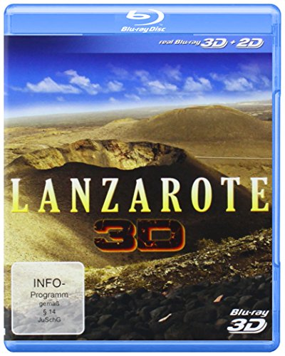 Lanzarote 3D (+ 2D Version) [Blu-ray 3D]