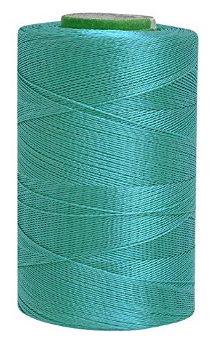 Telephone Threads Maschine Art Seidengarne 680 Mtr Teal Blue 2 Ply Faden Stickerei 10 Stück -