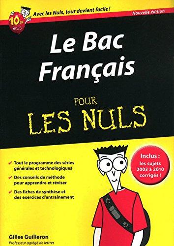 BAC FRANCAIS 2011 PR LES NULS