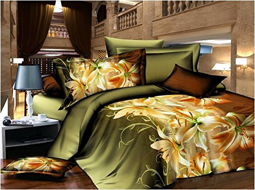 Dexim 3D Print Double Polysatin Bed Sheet With Two Pillow Cover Set (Black)  available at amazon for Rs.899