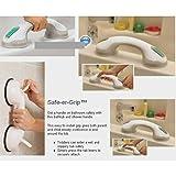 Etbotu Kreatives PS Plastikbadezimmer sicheres Handlauf mit der saugenden Disketten Anti Beleg Armrest Dekoration