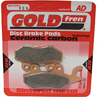 AJS Regal Raptor DD 125 E (Mk.II) (UK) 2009-2010 Brake Disc Pads Goldfren - Rear Right (Pair)