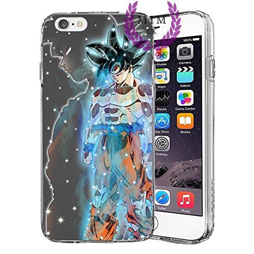 Dragon Ball Z Super GT iPhone Hülle/Schalen Case Cover - Höchste Qualität - Einzigartige Neueste Entwürfe - Alle iPhone Modelle- Viele Entwürfe - Tournament Of Power - Goku Black Rose - Goku Blue - Gohan - Jiren - Vegeta Blue - DBS - DBZ - DBGT - MIM UK (iPhone 7 Plus/8 Plus, Ultra Instinct) (Dragon Ball Iphone)