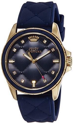 JUICY COUTURE - 1901099 - Montre Femme - Quartz - Analogique - Bracelet Cuir Bleu