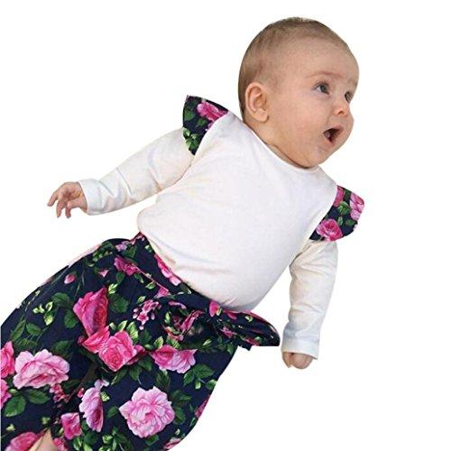 er Set Neugeborene Kleidung Baby Jungen Mädchen Weihnachten Hooded Drucken Strampler Jumpsuit Pyjamas Outfits (80, Weiß) (Kindern Passende Weihnachts Pyjamas)
