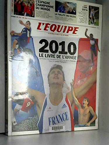 L'équipe, le livre de l'année 2010
