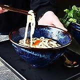7inch personalisierte Geschirr Keramik Schüssel Retro große Schüssel für Home Küche Salat Ramen