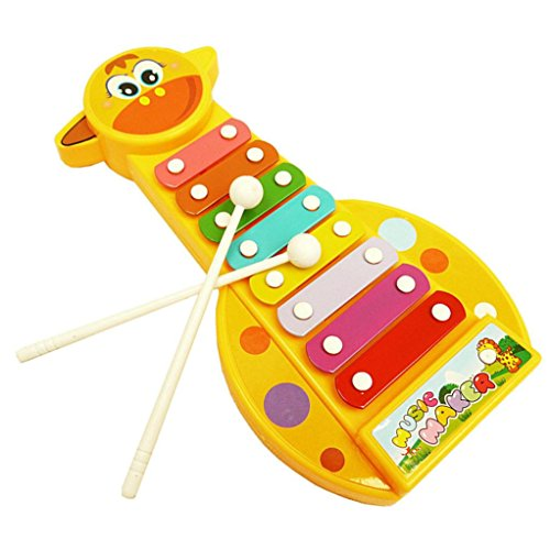 Internet Kind Baby Musikinstrument 8-Note Xylophon Toy Weisheit Entwicklung