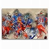 Leinwand American Football 120x80cm, Special-Edition Wandbild - 2