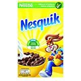 Nestlé Nesquik Cereales de trigo y maíz tostados al cacao - Paquete de cereales de 625 gr