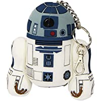 Joy Toy Star Wars 741018 - R2-D2 Portachiavi in Peluche, 12 cm