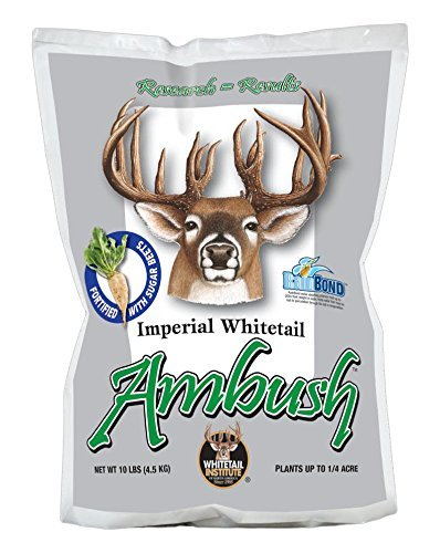 Whitetail Institute Imperial Ambush Food Plot Seed, 10 lb by Whitetail Institute -