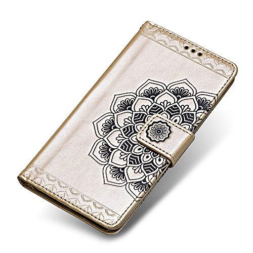 Cover iPhone 7 Plus / 8 Plus, The Grafu® Flip Cover Caso Libro Pelle PU e TPU Silicone [Cinturino da Polso] [Slot Carte] [Chiusura Magnetica] per ...