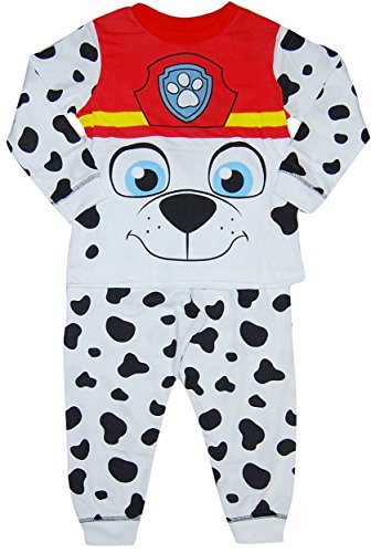 Boys Paw Patrol Pyjamas Costume Fancy Dress Marshall 18-24 Months 2 3 4 5 6 Years