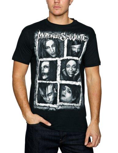 Plastichead - T-shirt, Uomo, Nero (Schwarz (Black)), XL