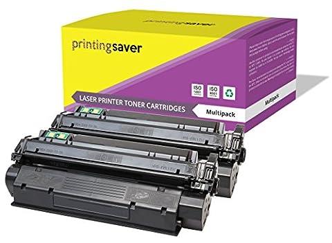 2x SCHWARZ Toner kompatibel für HP LaserJet 1300, 1300n, 1300t,