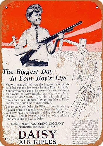 Yohoba 1925 Metallschilder, Motiv: Daisy Air Rifles, Vintage-Look, 30,5 x 45,7 cm -