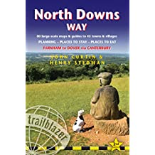 North Downs Way (Trailblazer British Walking Guides): 80 Large-Scale Walking Maps & Guides to 45 Towns & Villages - Planning, Places to Stay, Places ... (Trailblazer British Walking Guides)