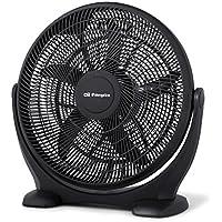 Orbegozo BF 0150 – Ventilador de suelo estilo industrial, 3 velocidades de ventilación, inclinación