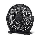 Orbegozo BF 0150 – Ventilador de suelo estilo industrial, 3 velocidades de ventilación, inclinación regulable, 50 cm de diámetro y potencia de 80 W