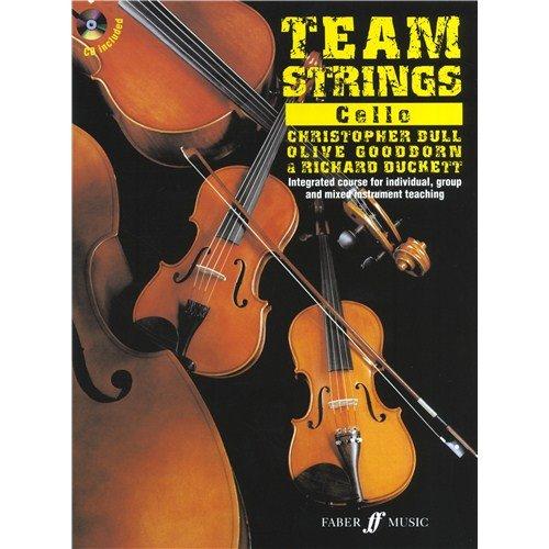 TEAM STRINGS: CELLO (BOOK/CD)  PARTITIONS  CD POUR VIOLONCELLE