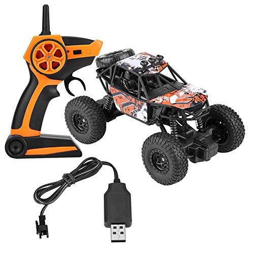 Semme Voiture Tout-Terrain Buggy Télécommandée Haute Vitesse 2.4Ghz 4WD de Voitures RC (Orange)