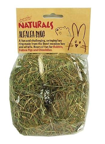 Boredom Breakers NATURALS Alfalfa Ring Pets Rotastak Edible 5025659194813