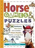 Pferde Spiele & Puzzles für Kinder: 102 Gehirnträger, Wortspiele, Witze &...