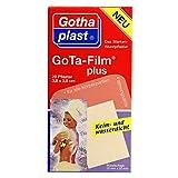 Marken-Wundpflaster GoTA-Film plus, Keim- und wasserdicht 3,8x3,8cm; Spar-Set 3x20Pflaster
